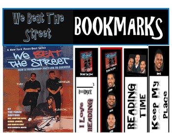 We Beat The Street BOOKMARKS (6)