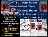 FOUR We Beat The Street BULLETIN BOARD Task Display Pages