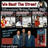 We Beat The Street - THREE Differentiated Mini Writing Pac