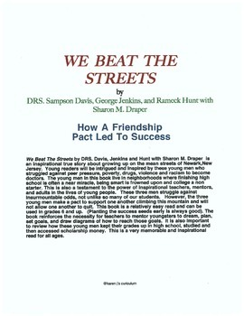 """We Beat The Streets,"" by DRS Davis, Jenkins, Hunt with Sharon Draper"