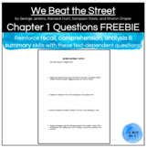 We Beat the Street Chapter 1 Questions
