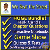We Beat the Street Novel Study: Printable + Google Classroom Distance Learning!