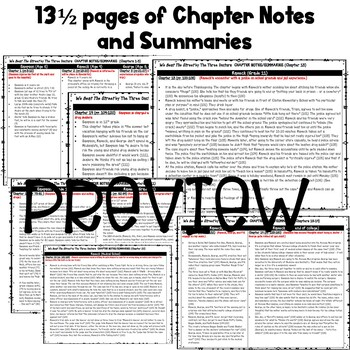 We Beat the Street by The Three Doctors Chapter Notes/Summaries for Teachers