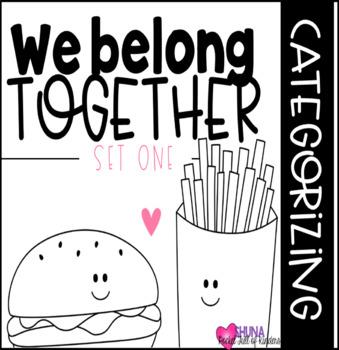 We Belong Together {A Categorizing Center}
