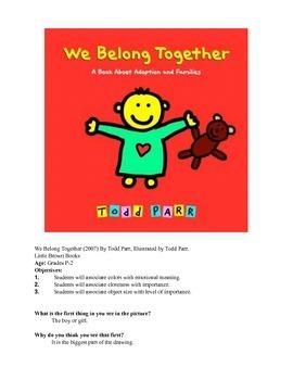 We Belong Together Lesson