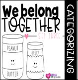 We Belong Together Set 3 {A Categorizing Center}