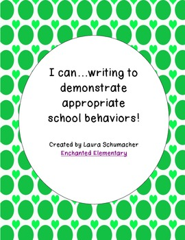We Can (Appropriate Behavior Writing)