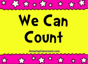 We Can Count - Beginning Counting - SMART Notebook Lesson