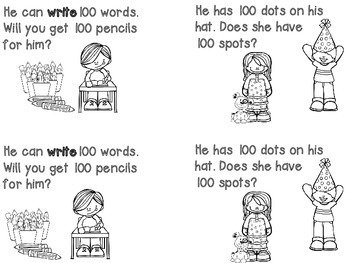 We Can Count to 100 Reader and Writing