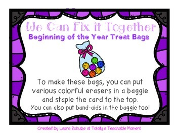 We Can Fix it Together! baggies