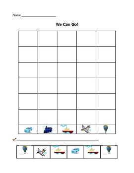 We Can Go!  Transportation Sort and Graph