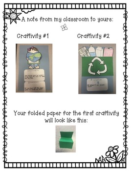 We Can Help Our Earth: Editable Earth Day Craftivity