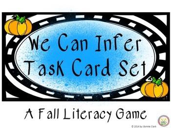 We Can Infer Task Card Set