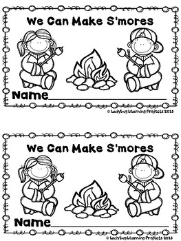 We Can Make S'mores (A Sight Word Emergent Reader and Teacher Lap Book)