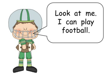 We Can Play Sports- Kindergarten Shared Reading PowerPoint