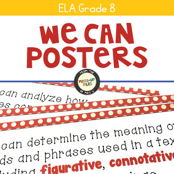 ELA Standards We Can Posters