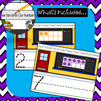 We Can Write Our Numbers 1-10 (SMART Notebook)