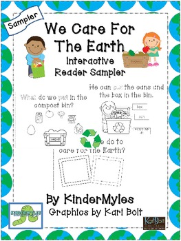 We Care For the Earth Interactive Reader - Sampler