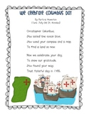 We Celebrate Columbus Day Song for ELA