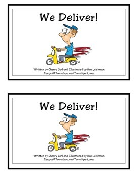 We Deliver! Guided Reader (-er Word Family) Bossy R