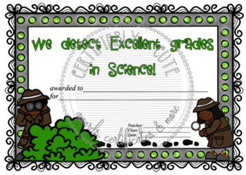 We Detect Excellent Grades in Science