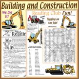 We Dig – Building & Construction Puzzle Set, Crosswords, W