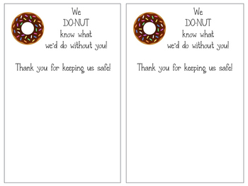 We Do-Nut Know What We'd Do Without You! Tags