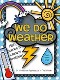 We Do Weather ~ Activities & Printables