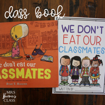 We Don't Eat Our Classmates (Distance Learning Friendly)