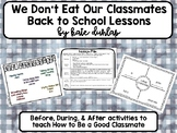 We Don't Eat Our Classmates Back To School Lesson