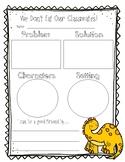 We Don't Eat Our Classmates Response Sheet