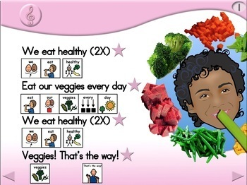 We Eat Healthy - Animated Step-by-Step Song - PCS