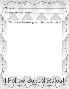 We Follow School Rules