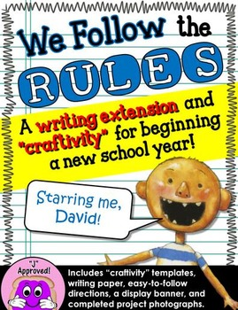 We Follow the Rules! A Back-to-School Project (Starring David)