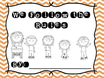 We Follow the Rules Classroom Book