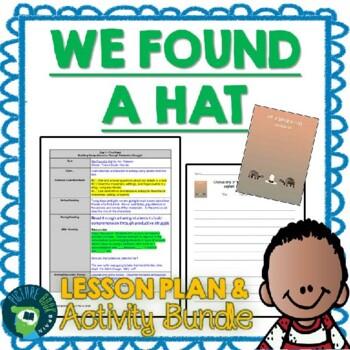 We Found a Hat by Jon Klassen 4-5 Day Lesson Plan