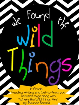 "Literacy: We Found the Wild Things- Activities for ""Where"