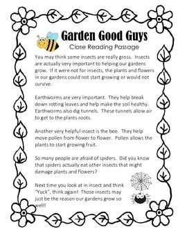 We Give Book -Garden Friends (Plants and Animals)