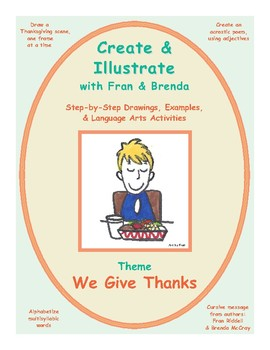 We Give Thanks: Create & Illustrate with Fran and Brenda