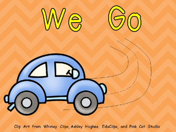 We Go Shared Reading for Kindergarten- Level A