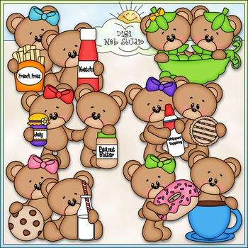 We Go Together Bears Clip Art - Teddy Bear Clip Art - CU C