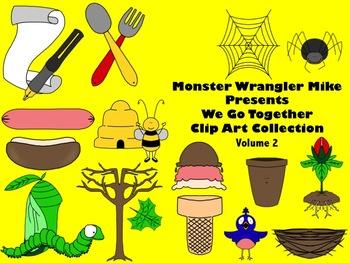 We Go Together Clip Art Volume 2: Partners