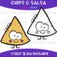 We Go Together Clipart- Chips and Salsa {jen hart Clip Art}