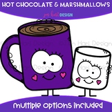 We Go Together Clipart- Hot Chocolate and Marshmallows {je