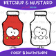 We Go Together Clipart- Ketchup and Mustard {jen hart Clip Art}