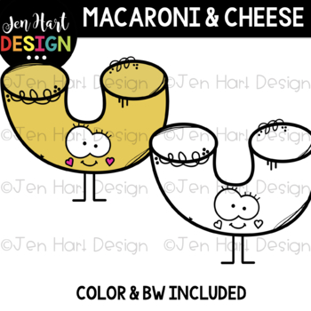 We Go Together Clipart- Macaroni & Cheese {jen hart Clip Art}