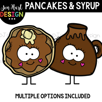 We Go Together Clipart- Pancakes and Syrup {jen hart Clip Art}