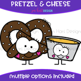 We Go Together Clipart- Pretzel & Cheese {jen hart Clip Art}