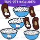 We Go Together Clipart- Rice and Beans {jen hart Clip Art}