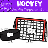 We Go Together Clipart - Sports - Hockey {jen hart Clip Art}